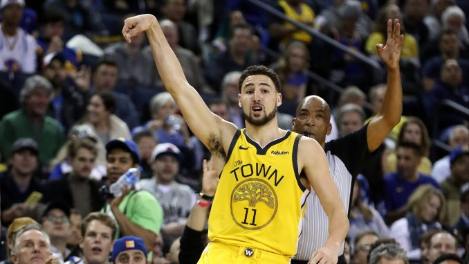 Klay Thompson Scores 43 Points with Only FOUR DRIBBLES