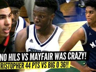 Mayfair VS Chino Hills STATE PLAYOFFS: Josh Christopher DROPS 44, Onyeka Okongwu 36! LaMELO Ball Watching!