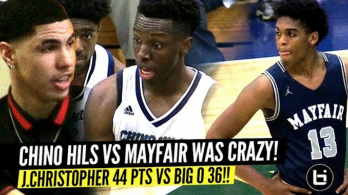 Mayfair VS Chino Hills STATE PLAYOFFS: Josh Christopher DROPS 44, Onyeka Okongwu 36! LaMELO Ball Watching!